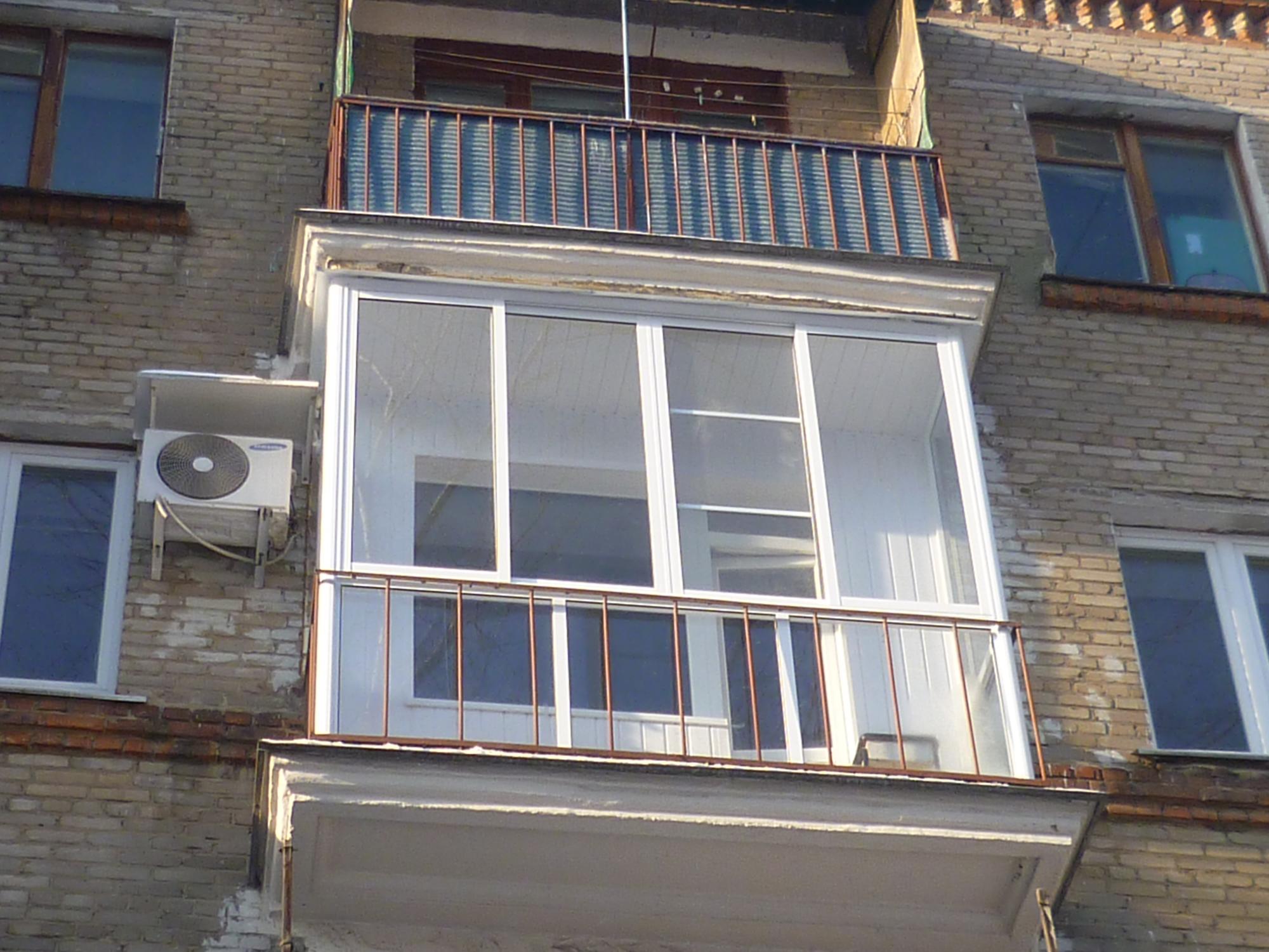 Стоимость остекления балкона в хрущевке московские окна..